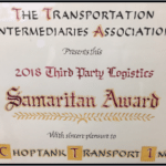 TIA Good Samaritan Award
