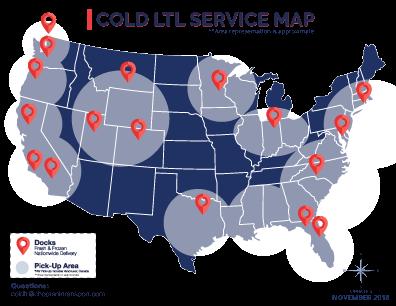 Cold LTL shipping